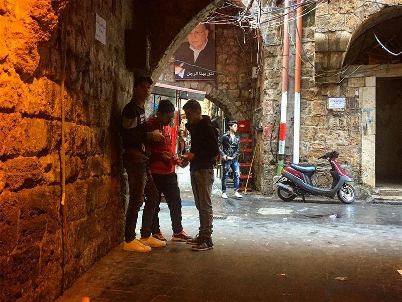 A corner in Tripoli's Old Streets (Tripoli, Lebanon)