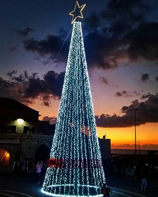 Christmas Tree and Decorations Batroun 2016 (Batroûn)