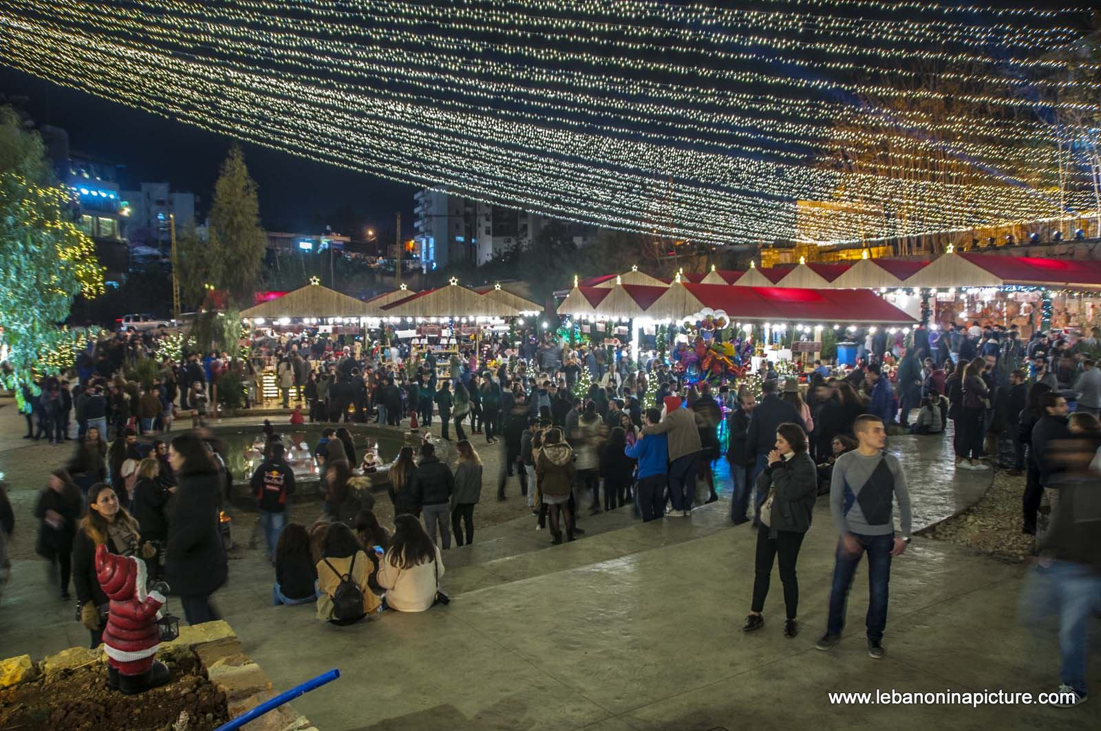 Christmas Village and Souk El Akel (Antelias, Lebanon)