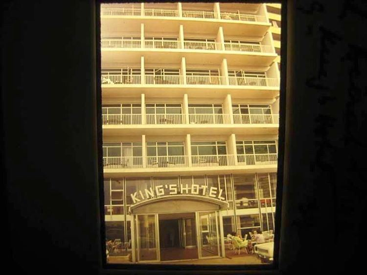 Beirut KING'S Hotel Raouche 1965