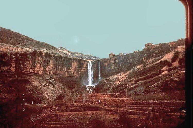 Jezzine Waterfall 1960