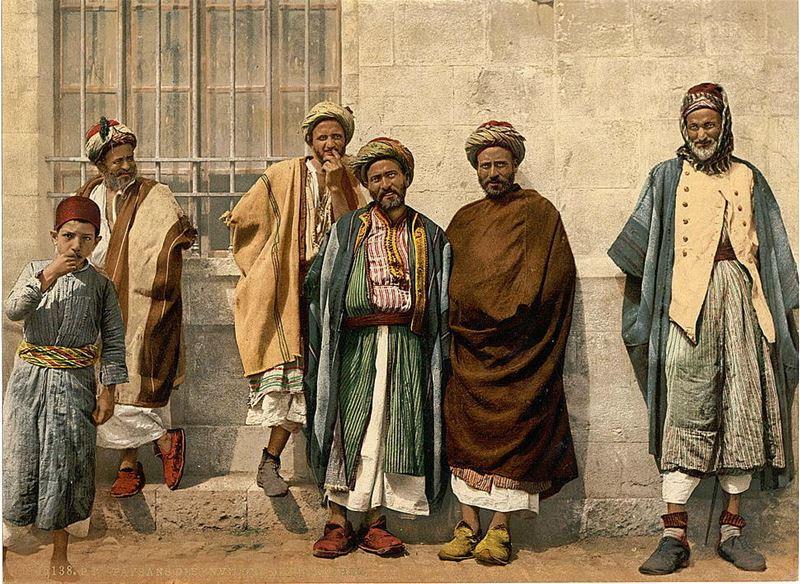Lebanese farmers 1880s