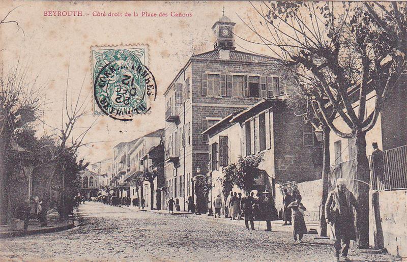 Place des Canons 1870s