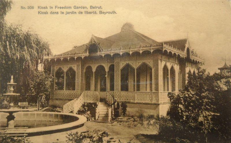Kiosk in Freedom Garden 1880s
