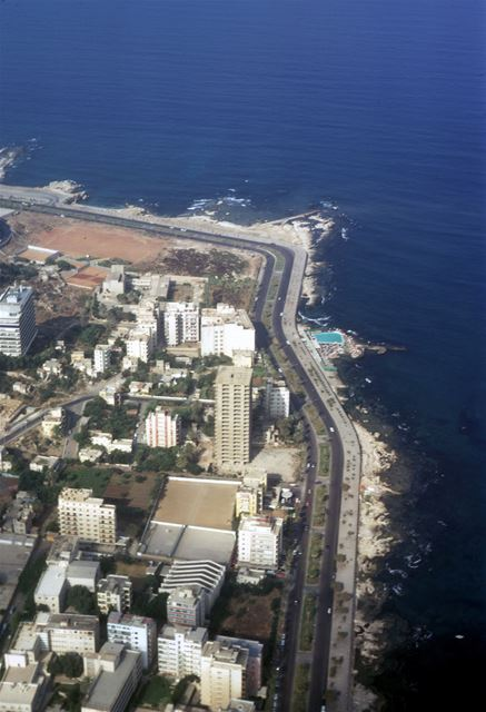 Beirut Seashore 1972