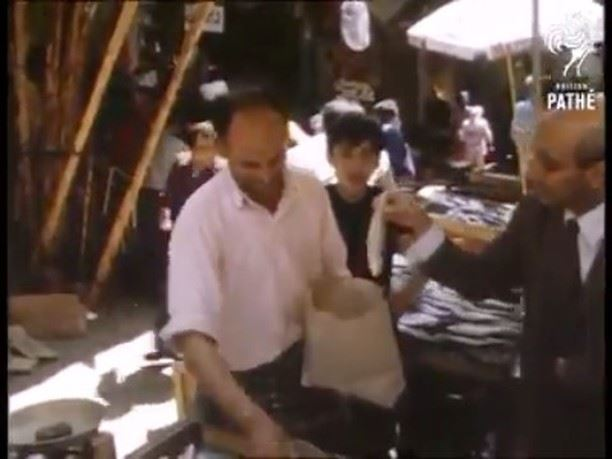 داخل أسواق بيروت الشعبية القديمة سنة 1972