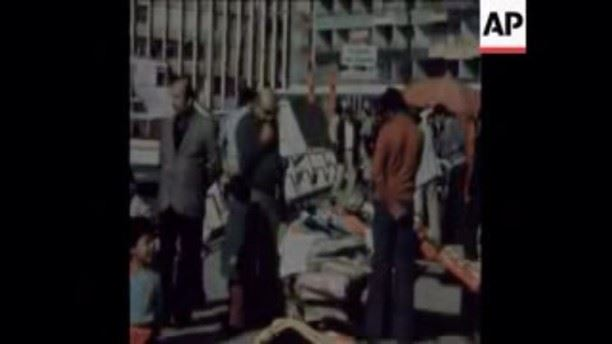 Christmas Shopping Beirut Raouche 1975