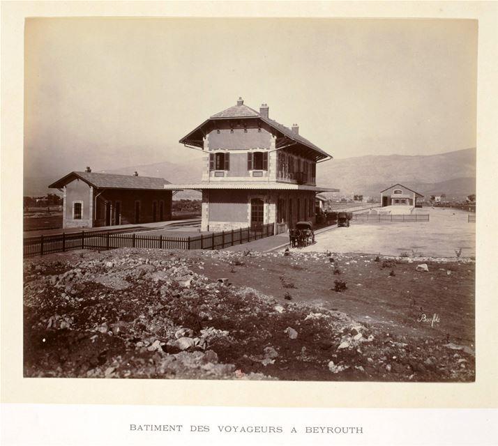 Beirut Train Station 1895