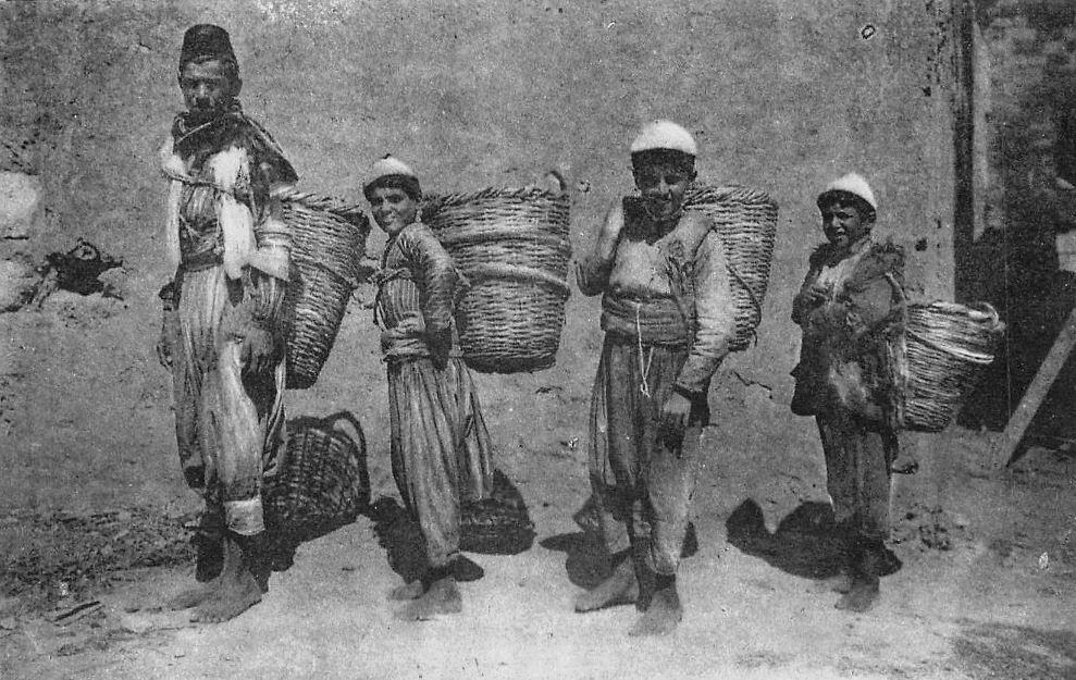 Street Vendors 1880s