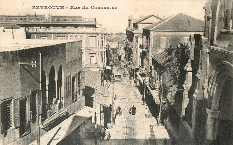 Commerce Street and Capuchin Church  1910s