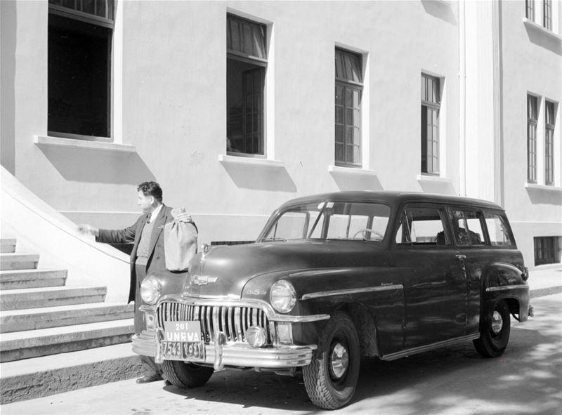 UNRWA Diplomat 1952