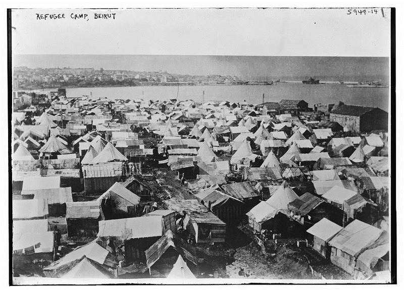 Refugee Camp in Beirut  1930s