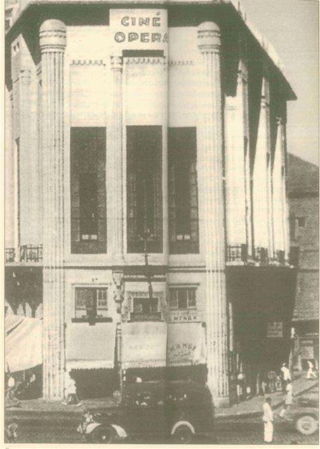 Ciné Opera, currently Virgin Megastore 1930s