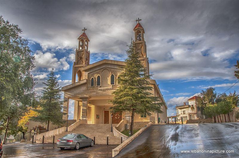 St. Sarkis and Bakhos Church (Zaaitra, Lebanon)