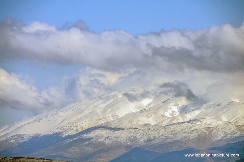 Jabal el Cheikh Close Up (Srifa, Lebanon)