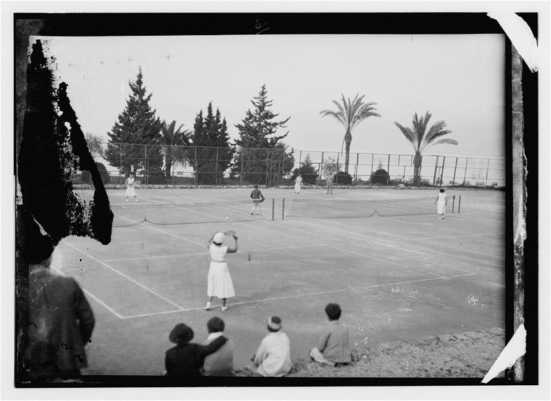 AUB Tennis Courts  1920s