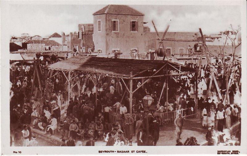 Farmers Market Cafe 1930s