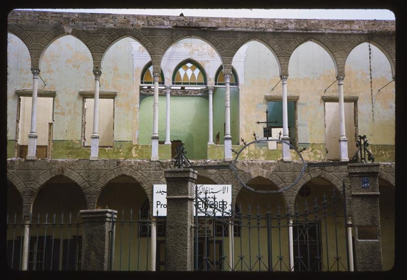 Old House in Beirut 1965