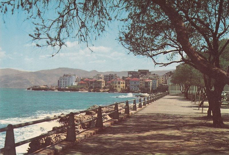 Beirut Corniche 1970s
