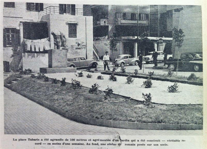 La place Tabaris 1958
