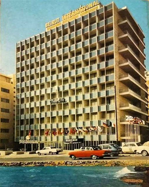 Beirut International Hotel 1967 .#Livel