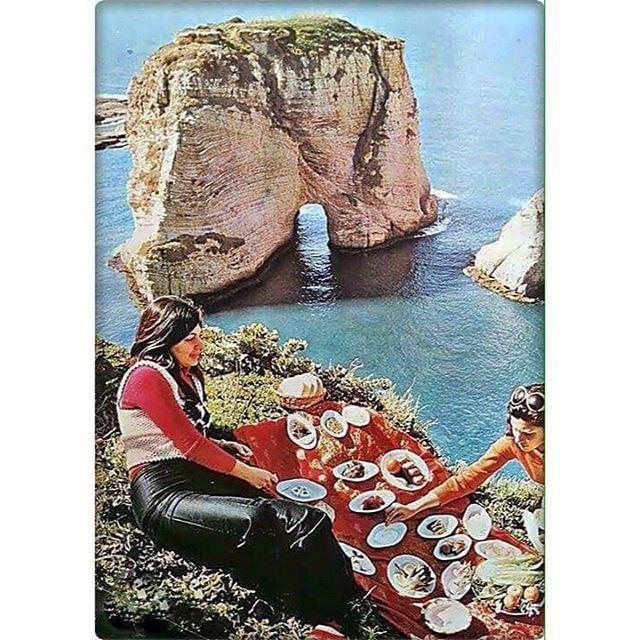 بيروت الروشة ١٩٧٢ ،Beirut Raouche 1972