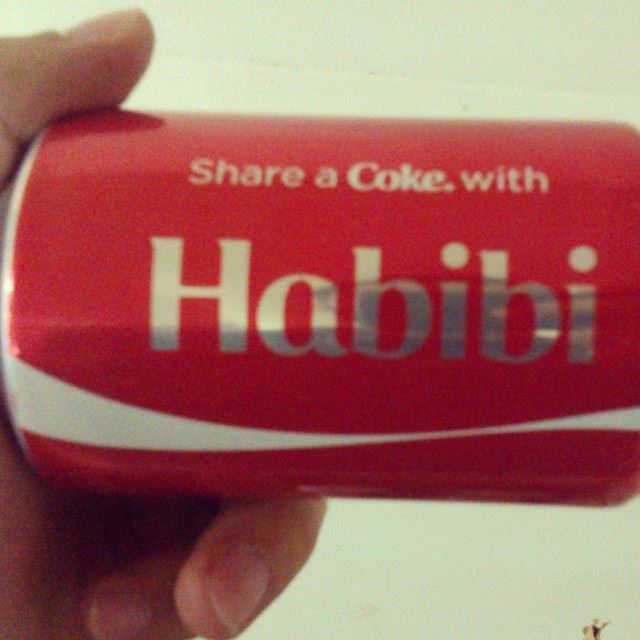 Share a coke with habibi