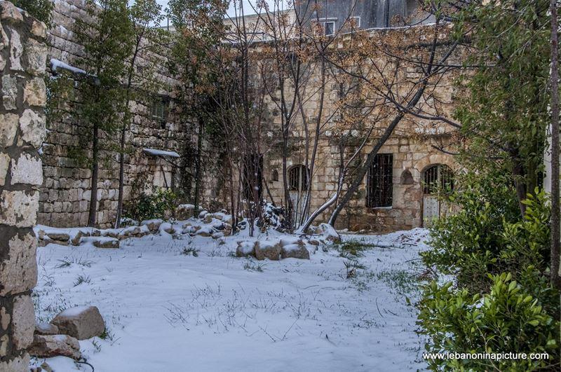 Snow Storm in (Yaroun)