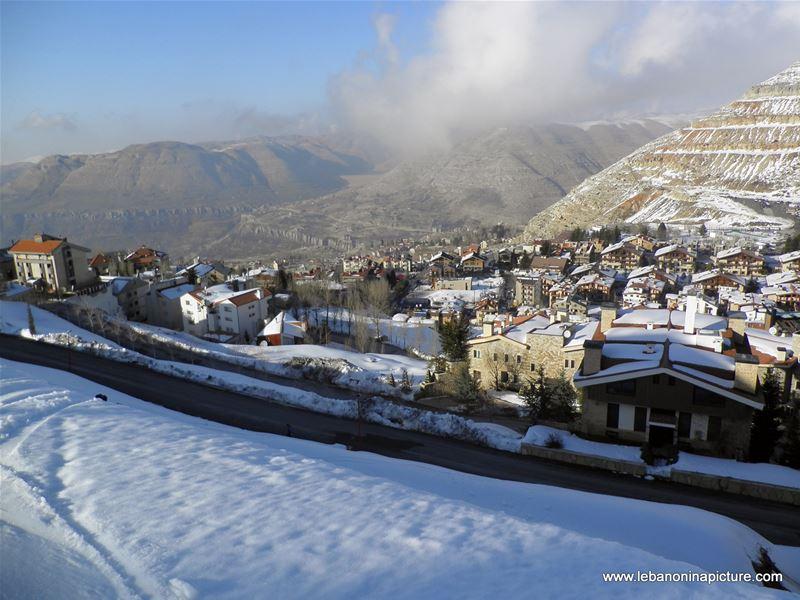 Oyoun el Siman and Refuge Piste (Winter 2011)
