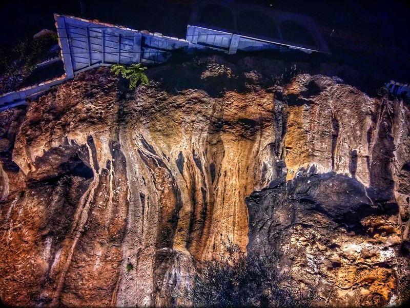 lacreperie jounieh kaslik lebanon restaurant cliff rocky terrace ... (La Creperie)
