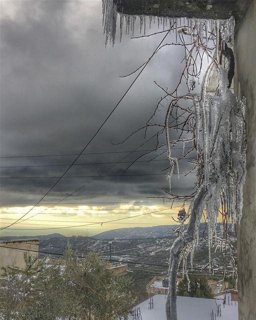 ⛈❄️🌨 (Qurnayil, Mont-Liban, Lebanon)
