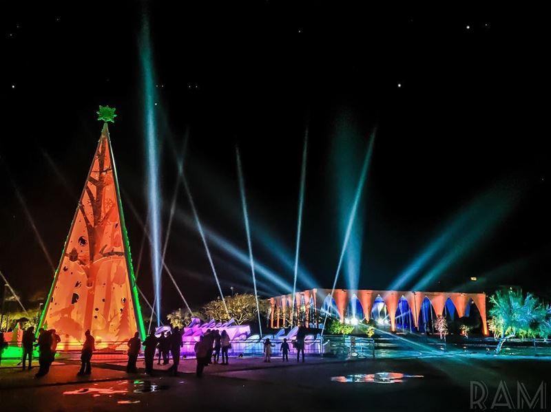 Tripoli, capital of North Lebanon, shining like a Star in the dark.🎄Merry (Tripoli, Lebanon)