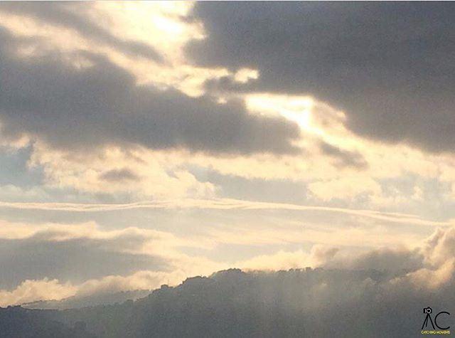 ballouneh lebanon clouds winter sunrise aurora aurore ... (Ballouneh, Mont-Liban, Lebanon)