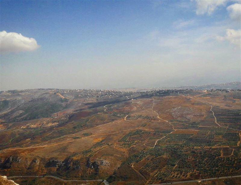 morning lebanon from southlebanon whatsuplebanon ig_lebanon ... (Beaufort Castle, Lebanon)