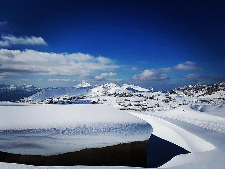In the midst of Winter .. I found there was within Me, an invincible... (El Laklouk, Mont-Liban, Lebanon)