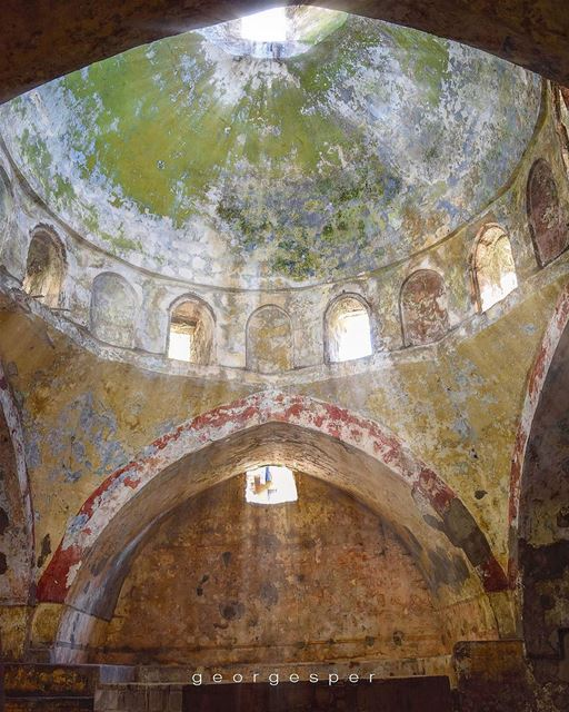 Abandoned Mameluke Hammam in Tripoli, built in 1333 🇱🇧.My FB page [link (Tripoli, Lebanon)
