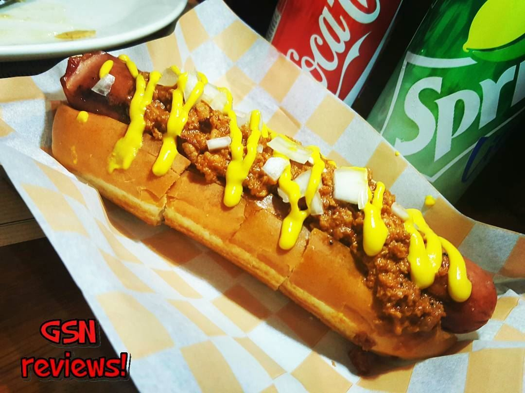 Coney Island Dog at its best @brgr.co .A European-style Vienna sausage ... (BRGR Co.)