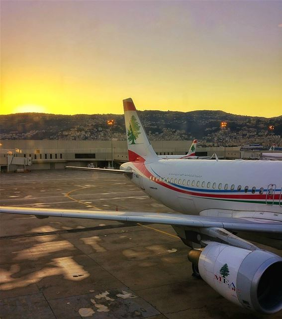 😍😍✈ lebanon nature naturelovers natureporn landscape follow4follow... (Beirut–Rafic Hariri International Airport)