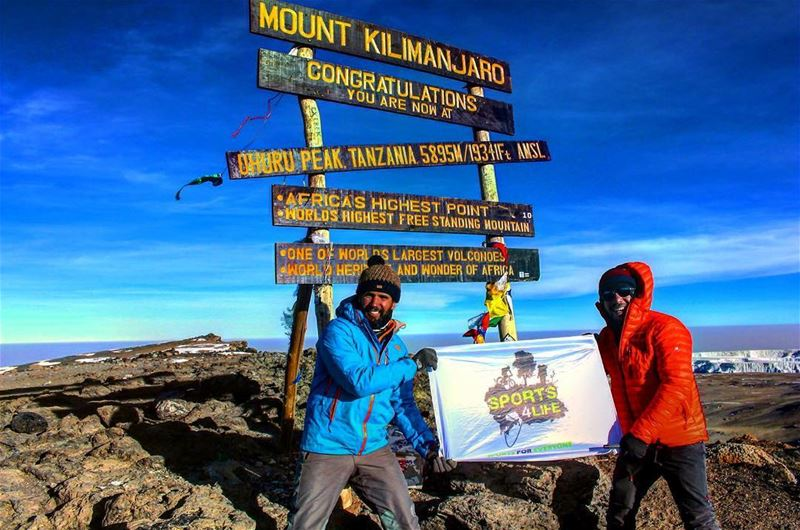 Uhuru Peak 5895m  topofafrica kilimanjaro climb back in 2015 follow is... (Mount Kilimanjaro)