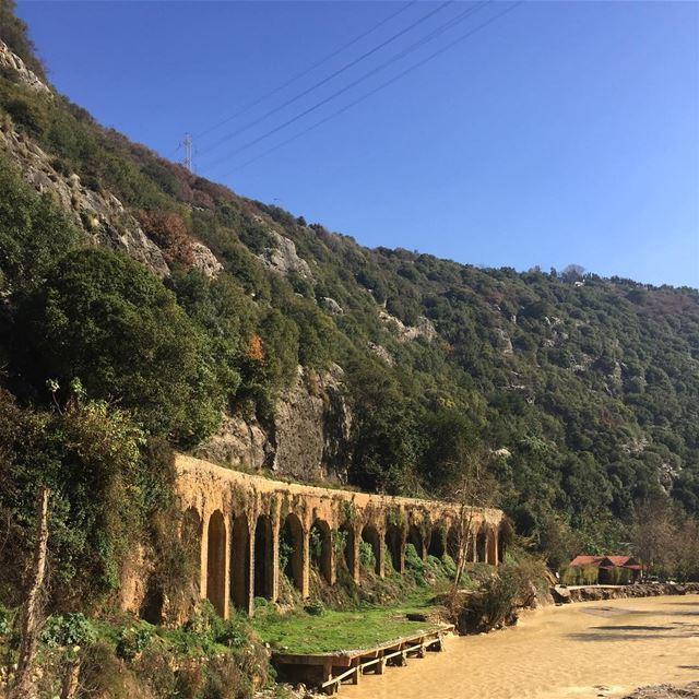 Aqueduc romain a Nahr el ❤️Good morning whatsuplebanon livelovelebanon ...