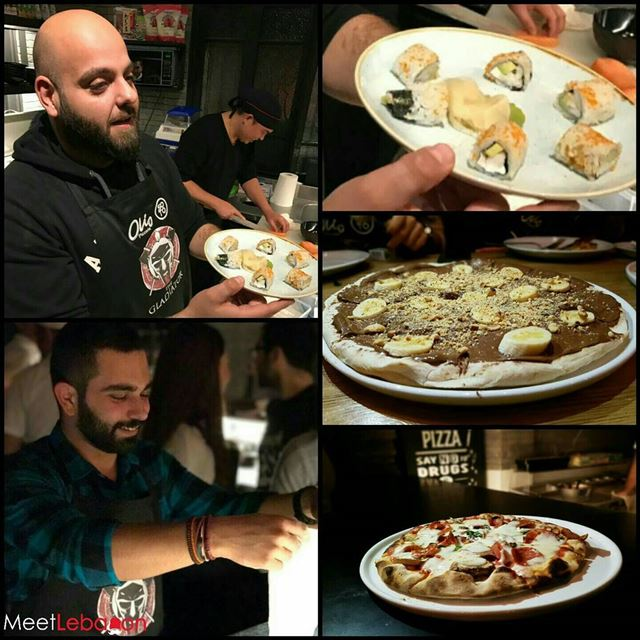 A Pleasant Experience at @oliopizzeria 🍕🍕 & @sotolebanon 🍣🍣 in their... (Olio & Soto)