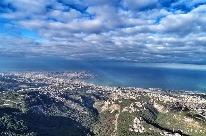 Morning view after the Storm...Good Morning igers AboveLebanon Lebanon ...