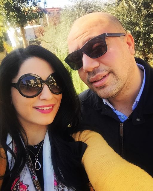 ❤👫 husbandandwife sundayfunday couplegoals love weekend... (The Backyard Hazmieh)