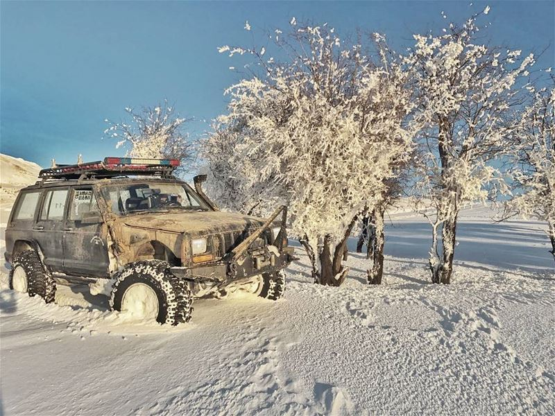 Credit @firas3amer jeep xj falougha friends gopro lebanon nofilter...