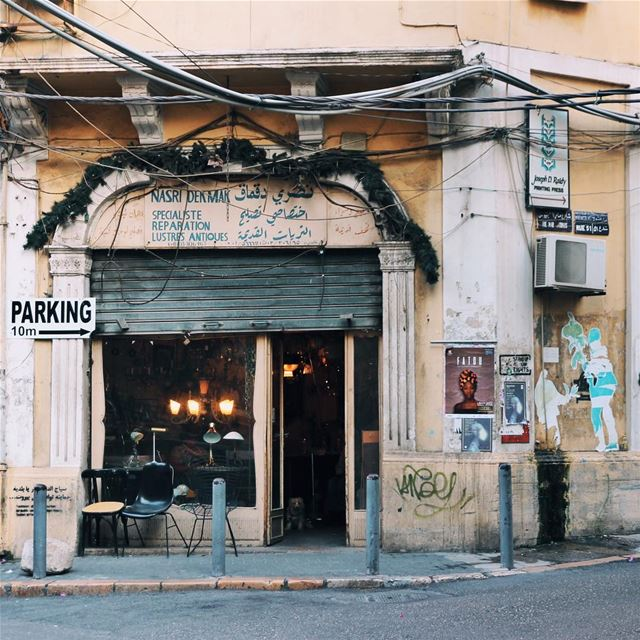 •Lustres antiques• beirut lebanon exklusive_shot liveauthentic ... (Gemmayzeh, Beirut)