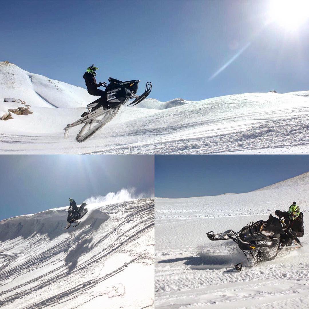 A great Snowmobile Day !@selimrached polaris fxr polarisrider ...