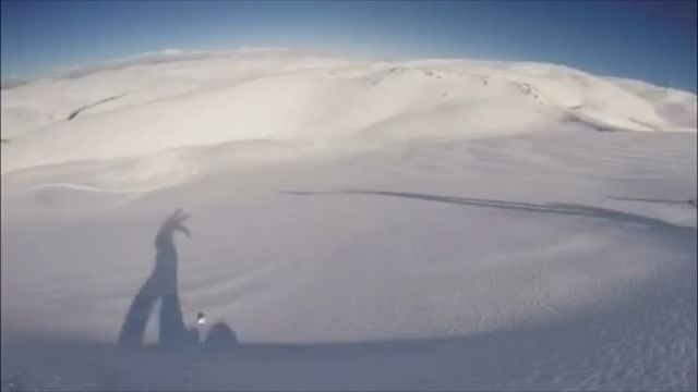 Some backcountry shredding. @snoooopali enjoying the freshies. ... (Mzaar Kfardebian)