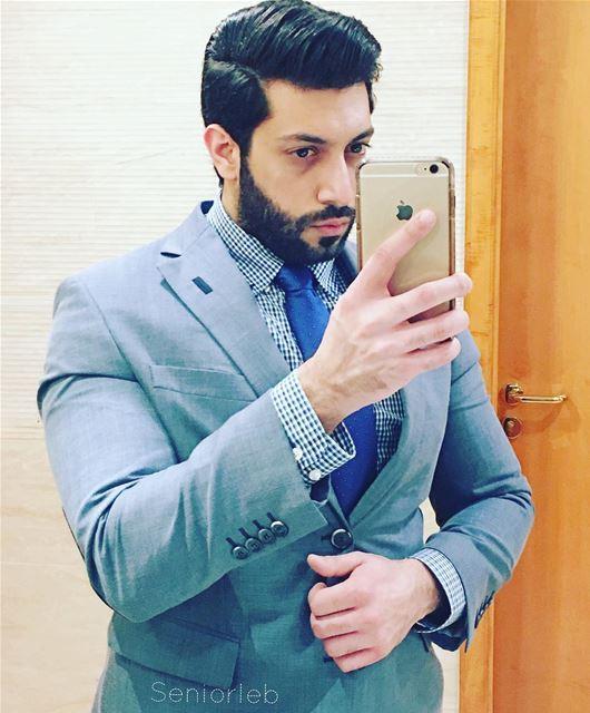 Good evening... 🙋🏽♂️ dubai mydubai uae lebanon lebanese men suit... (Wafi Mall)