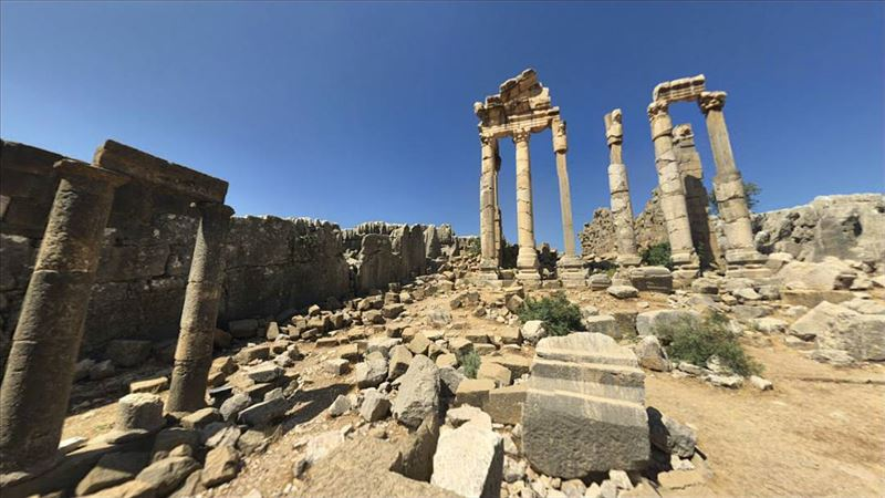 Temple of Adonis, Faqra, LebanonIt is believed that Romans used Faqra as... (Faqra Ruins)