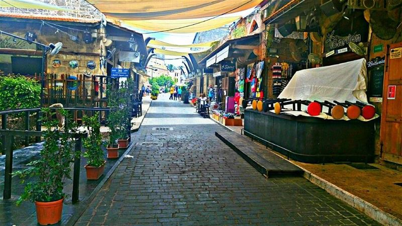 WELCOME TO OLD BYBLOS MARKET ( JBEIL - LEBANON ) PHOTO BY ▶ @hussein.fwz ... (سوق جبيل العتيق)